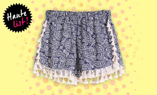 Editors Pick The Style Syndrome Tassel Shorts_Hauterfly