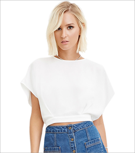 Forever 21 D-Ring Back Top_Hauterfly