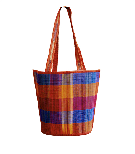 Gleamberry Brown Mat Handcrafted Bag_Hauterfly