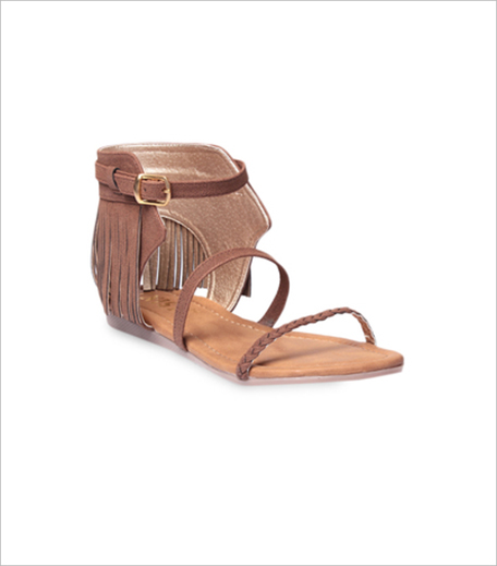 Gnist tan suede buckled sandals_Hauterfly