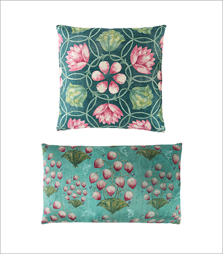 Good Earth Dupion Silk Cushion_Hauterfly