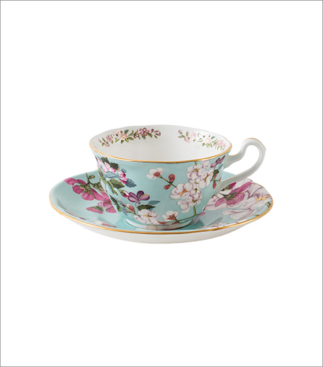 Good Earth Persian Garden Cup And Saucer Set_Hauterfly