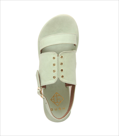 Gush Shoes & Accessories Mint Flatforms_Hauterfly