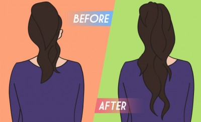 How To Add Length And Volume To Ponytail_Hauterfly
