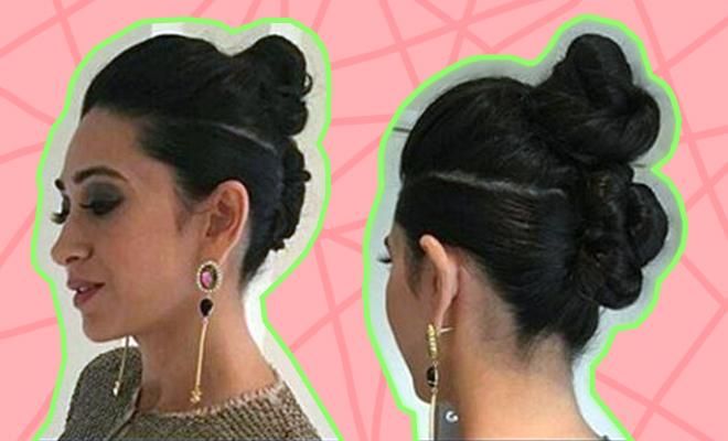 Karishma Kapoor Double Top Knot_Hauterfly