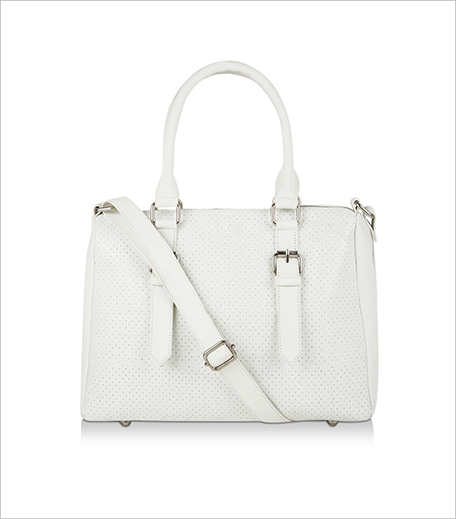 Koovs Perforated Sporty Bowling Bag_Hauterfly
