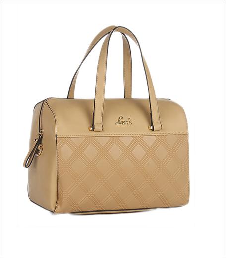 Lavie Caramel Peru Medium Box Bag_Hauterfly