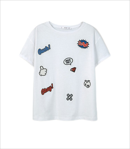 Mango Decorative patches t-shirt_Hauterfly