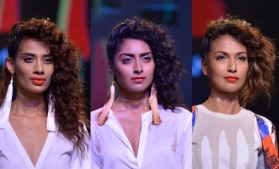 Masaba Curls Beauty Look LFW2016_Hauterfly