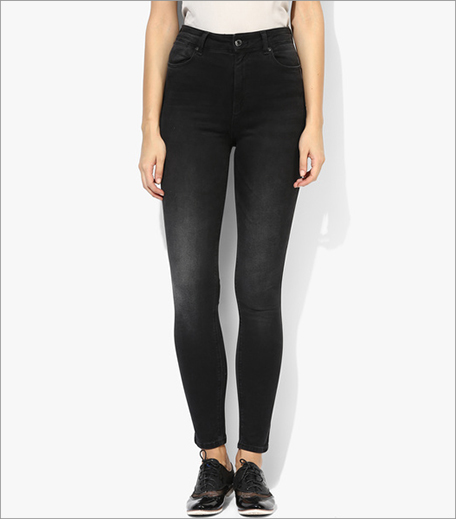 Mexx Blue Mid Rise Skinny Jeans_Hauterfly