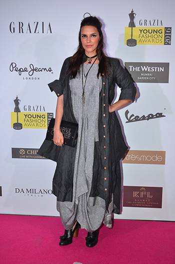 Neha Dhupia_Week In Celebrity Style_April 9_Hauterfly