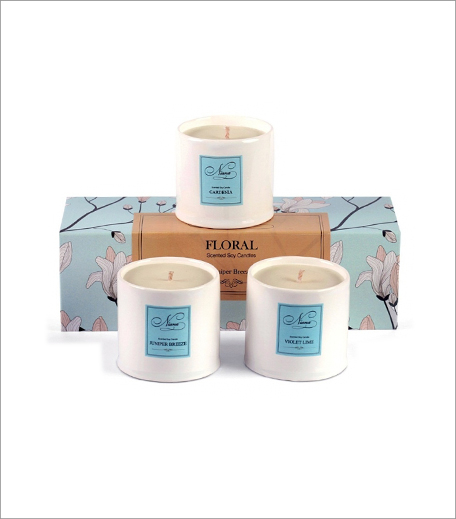 Niana Floral Scented Candle Set_Hauterfly