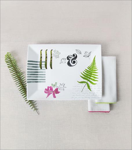 Nicobar Flora Rectangular Platter_Hauterfly