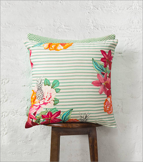Nicobar Mahe Botanical Cushion_Hauterfly