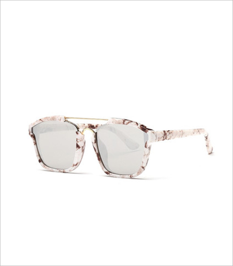 Pataaka Grey Print Rhombus Sunglasses_Hauterfly