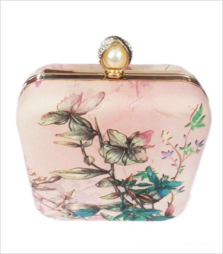 Princesse K Floral Box Clutch_Hauterfly