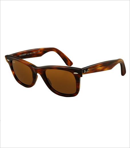 Rayban Tortoise Folding Wayfarer Sunglasses_Hauterfly