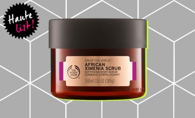 The Body Shop Spa of The World African Ximenia Scrub_Hauterfly