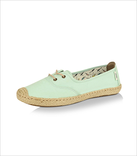 Vans Swimmers Collection Espadrille Style Slip On Trainers_Hauterfly