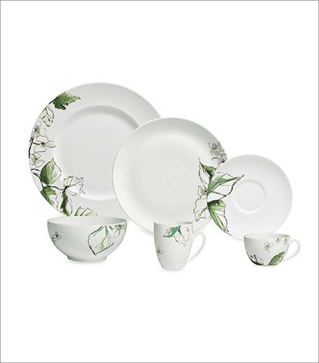 Vera Wang Wedgewood Floral Leaf Dinner Set_Hauterfly