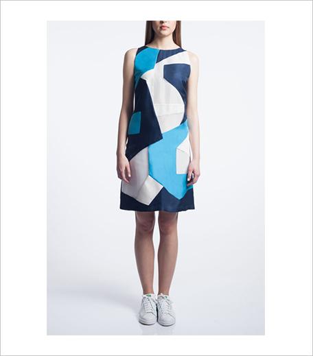 Vizyon Colour Blocked Shift Dress_Hauterfly