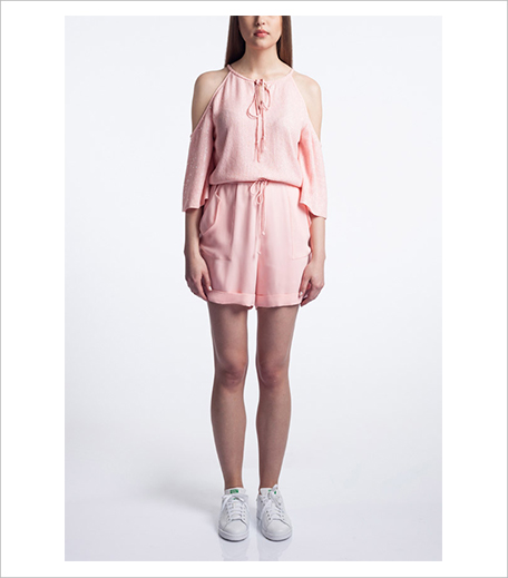 Vizyon Embroidered Short Drawstring Playsuit_Hauterfly