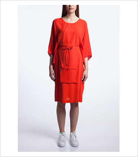 Vizyon Origami Drawstring Kaftan Dress Model Shot_Hauterfly