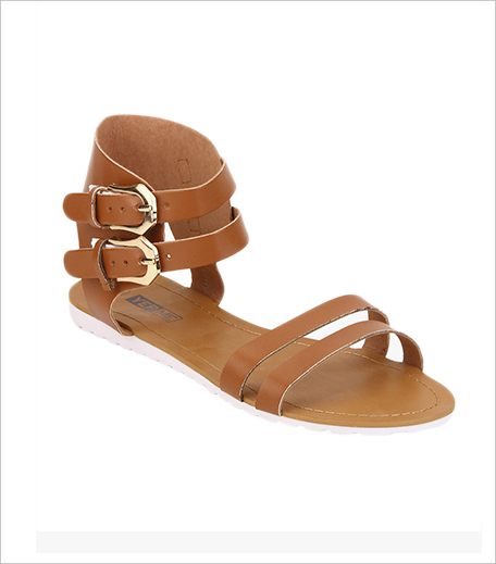 Yepme Brown Sandals_Hauterfly