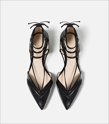 Zara Ballerinas With Straps_Hauterfly