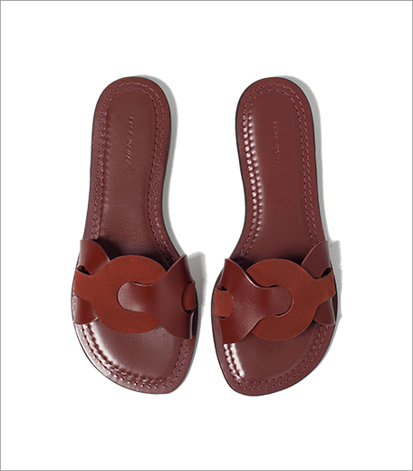 Zara Contrast Leather Slides_Hauterfly
