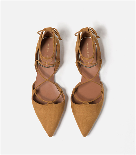 Zara Flat Laceup Shoes_Hauterfly