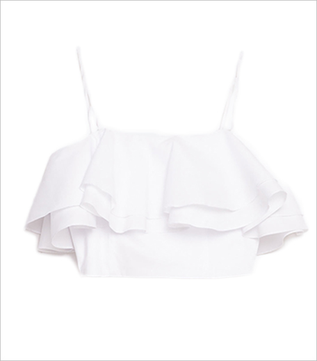 Zara Frilled Bustier Top_Hauterfly
