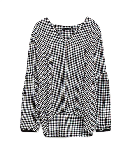 Zara Gingham Blouse_Hauterfly