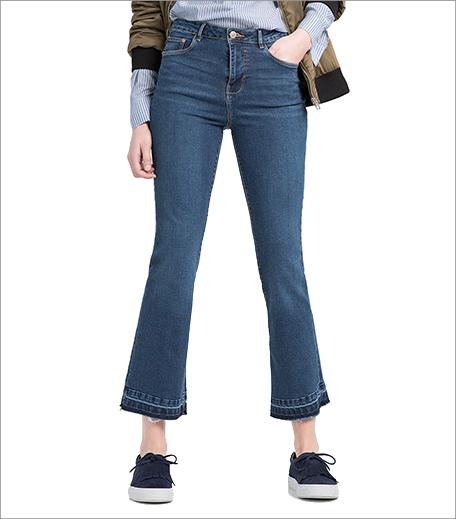 Zara Kick Flare Jeans_Hauterfly