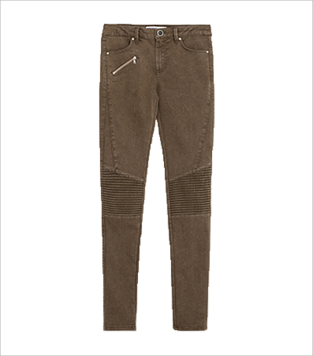 Zara Mid-rise Biker Trousers_Hauterfly