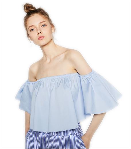 Zara Off the shoulder top_Hauterfly