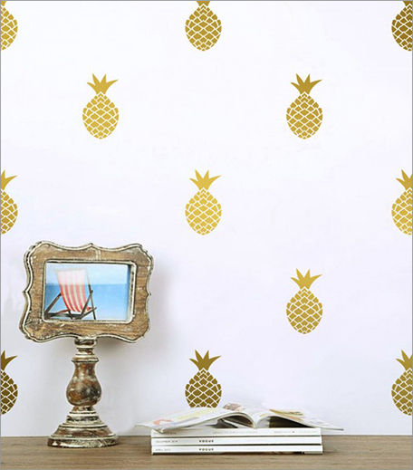 The Label Life Pineapple Wall Decals_Hauterfly
