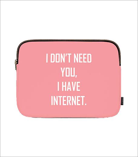 Uptown 18 Internet Laptop Sleeve_Hauterfly