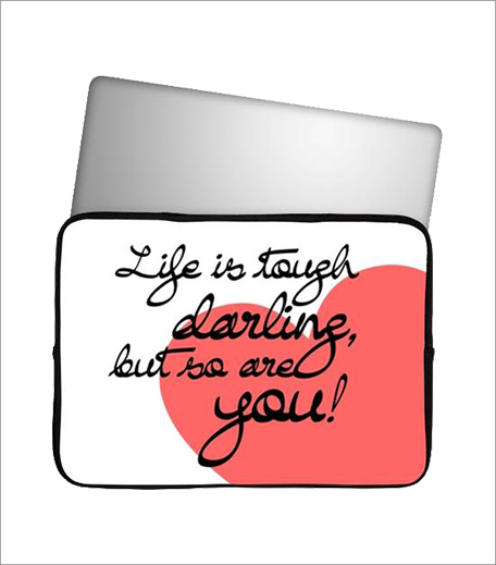 Postergully Life Is Tough Laptop Sleeve_Hauterfly