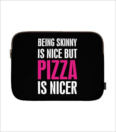 Uptown 18 Pizza Laptop Sleeve_Hauterfly