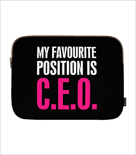 Uptown 18 My Favourite Position Is C.E.O Laptop SLeeve_Hauterfly
