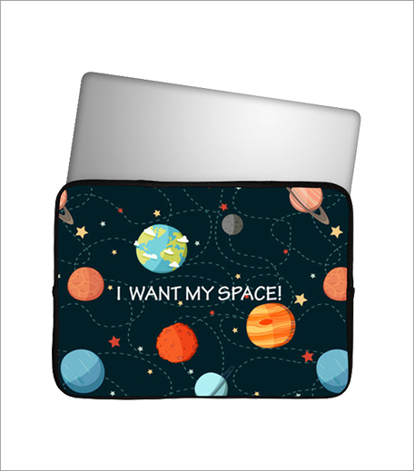 Postergully I Want My Space Laptop Sleeve_Hauterfly