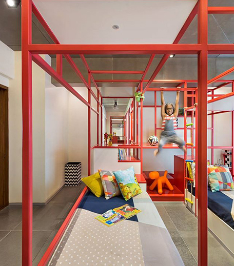 Kids Jungle Gym Bedroom_Hauterfly