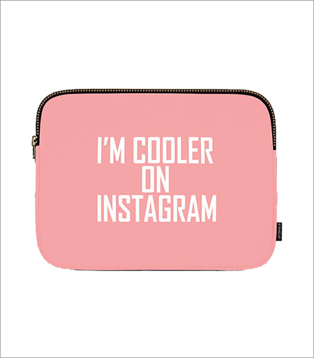 Uptown 18 I'm Cooler On Instagram Laptop Sleeve_Hauterfly