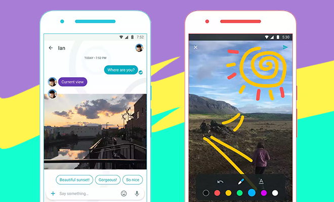 Google's Messaging App Allo_Hauterfly