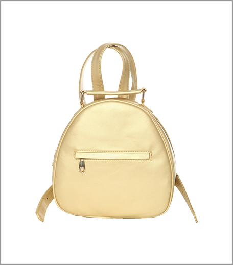 Gold backpack SBL_Hauterfly