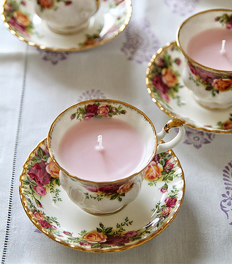 Tea Cup Candle_hauterfly