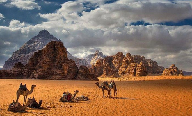 Wadi Rum Camel Rides Jordan_Hauterfly