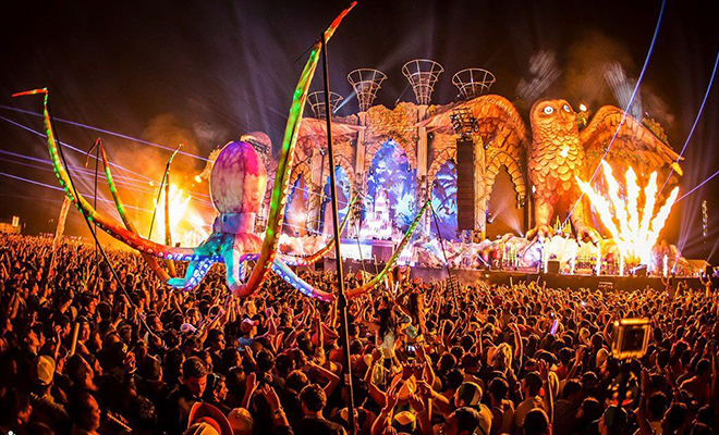 electric daisy carnival-hauterfly