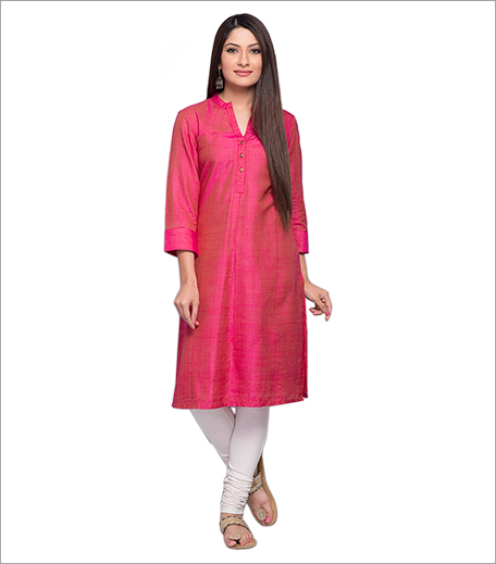 fab-india-tussar-silk-kurta_hauterfly